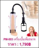 กระบอกสูญญากาศ ปั๊มเพิ่มขนาด PM-003-1
